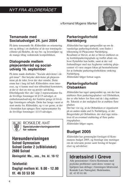 Nyt initiativ - Greve Kommune