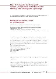 Phase 8: Notizzettel zur Nachsorge Phase 5: Notizzettel für Ihr ...
