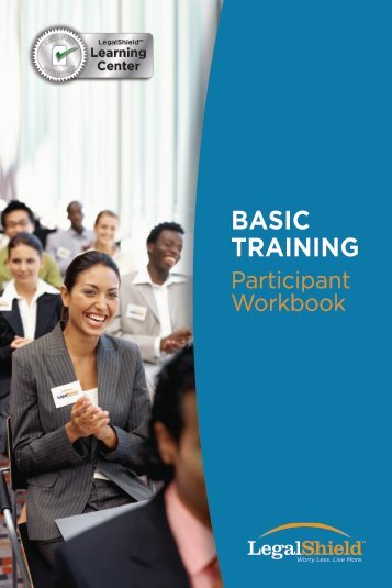 Basic Training Workbook - LegalShield
