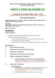 Referat fra mødet den 10 december 2009 final - Vækst & Viden