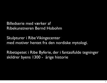 Ribe-kunstneren Bernd Hobohm