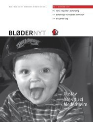 BløderNyt, december 2007 - Danmarks Bløderforening.