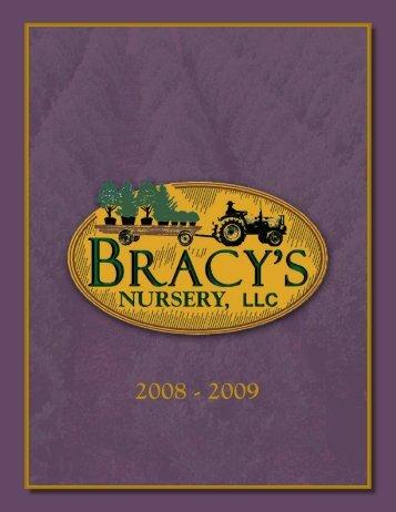 2008 - 2009 - Bracy's Nursery