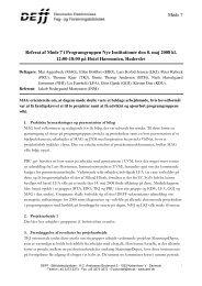 Referat af møde 7 i NI - DEFF