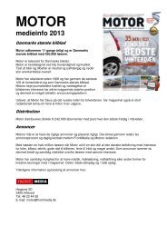 Motor Prisliste 2013 - FrontMedia