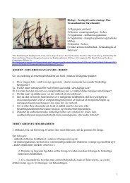 Biologi – forslag til undervisning i Den Transatlantiske ... - Emu