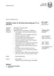 Referat af møde i Det Grønne Råd 27. august 2012 (pdf ... - Aarhus.dk