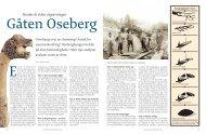 Gåten Oseberg i Levende historie 06. - Midgard historiske senter