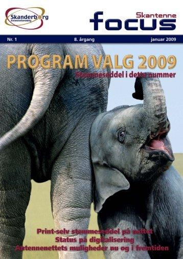Medlemsblad 1 - 2009 - Skanderborg Antenneforening
