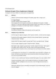 Forhandlingsprotokol (referat) 2009 (pdf) - Århus Ungdommens ...