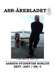 Årebladet 07.4 (fylder 2.04mb) - ASR - Aarhus Studenter Roklub