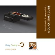 Download the Dairy Quality Kit User Guide