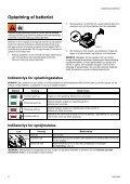 Betjeningsvejledning - Page 6