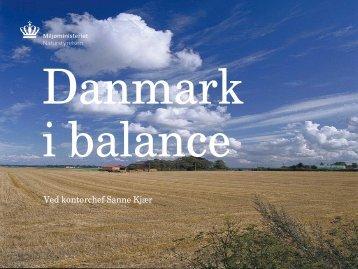 Danmark i balance - Naturstyrelsen