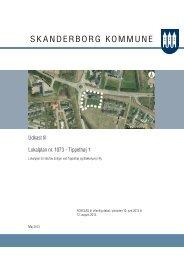 Forslag til lokalplan nr. 1073 - Tippethøj - Skanderborg Kommune