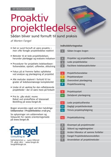 Proaktiv projektledelse - Fangel
