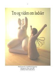Tro og viden om fødsler - Jordemoderforeningen