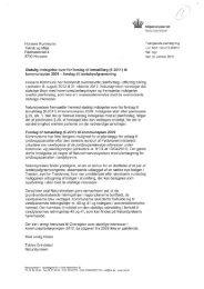 Forsiag til tematillmg (6-2011) til kommunepian 2009 cirkuirere om ...