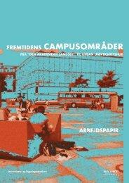 FREMTIDENS CAMPUSOMRÅDER - JUUL | FROST Arkitekter