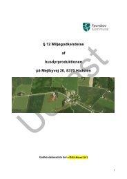 12 Miljøgodkendelse af husdyrproduktionen på Mejlbyvej 20, 8370