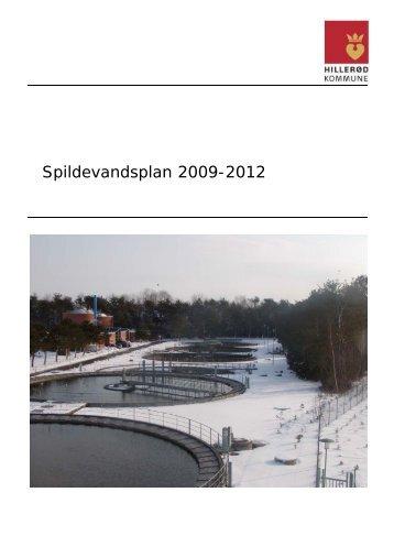 Spildevandsplan 2009-2012 - Hillerød Forsyning