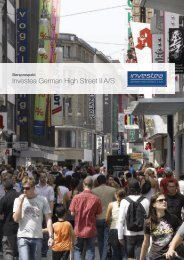 Investea German High Street II A/S - German High Street Properties ...
