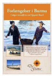 Forlængelser i Burma - DaGama Travel