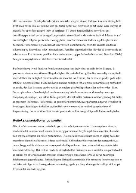 Posttraditionelle parforholdet - Kresten Kay