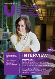 Læs hele interviewet med Pernille - Professionshøjskolen UCC
