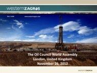 Kurdistan in 2004: Our Asset - One Block in Kurdistan ... - Oil Council