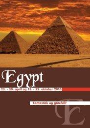 23. - 30. april og 15. - 22. oktober 2010 Fantastisk og gåtefullt