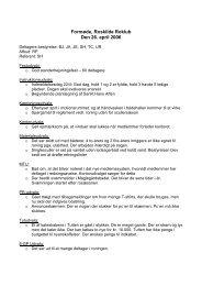 Se referatet fra mødet den 26. april 2006 - Roskilde Roklub