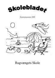 Skoleblad 2008 06-sommer - Rugvængets Skole