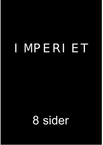IMPERIET 8 sider