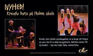 Kreativ Dans på Holme skole