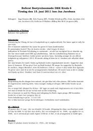 Referat Bestyrelsesmøde DKK Kreds 6 Tirsdag den 15. juni 2011 ...