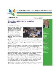 Februar 2007 - Rotary Danmark