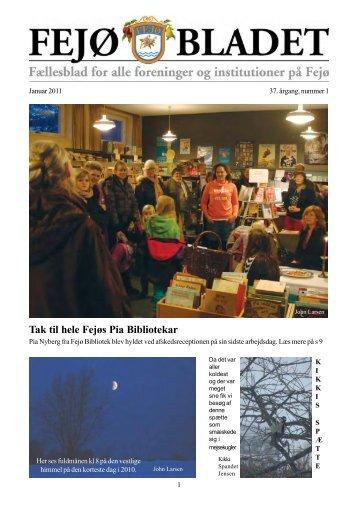Fejøbladet, 2011, nr. 1