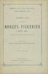 Tabeller Vedkommende Norges Fiskerier i Aaret 1895