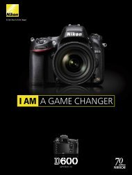 I AM A GAME CHANGER - Nikon