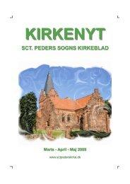 Kirkenyt_Marts-April-Maj 2009 - Sct. Peders sogn