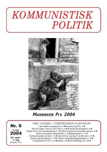 Kommunistisk Politik 9, 2004