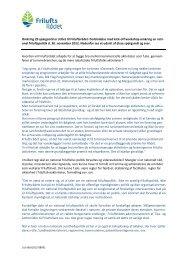 Læs et udsnit af Friluftsrådets spørgsmål og svar her, i forbindelse ...