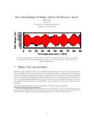 Kort introduksjon til bølger relatert til tidevann i havet1 1 Bølger i hav ...