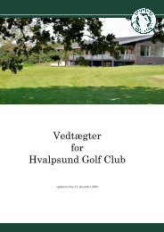Vedtaegter__November.. - Hvalpsund Golf Club