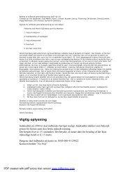 Referat af stiftende generalforsamling 2007 - Knud Mønster