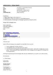 APF - Administratorskrivelse m. ekstra oplysninger ... - Siesbye Kapsch