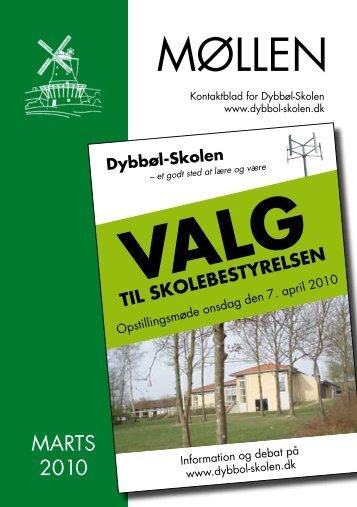 Møllen marts 2010 - Dybbøl-Skolen