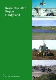 Råstofplan 2008 Region Nordjylland