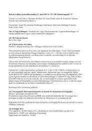 Referat ordinær generalforsamling 22. juni 2011 kl. 19 i AB ...